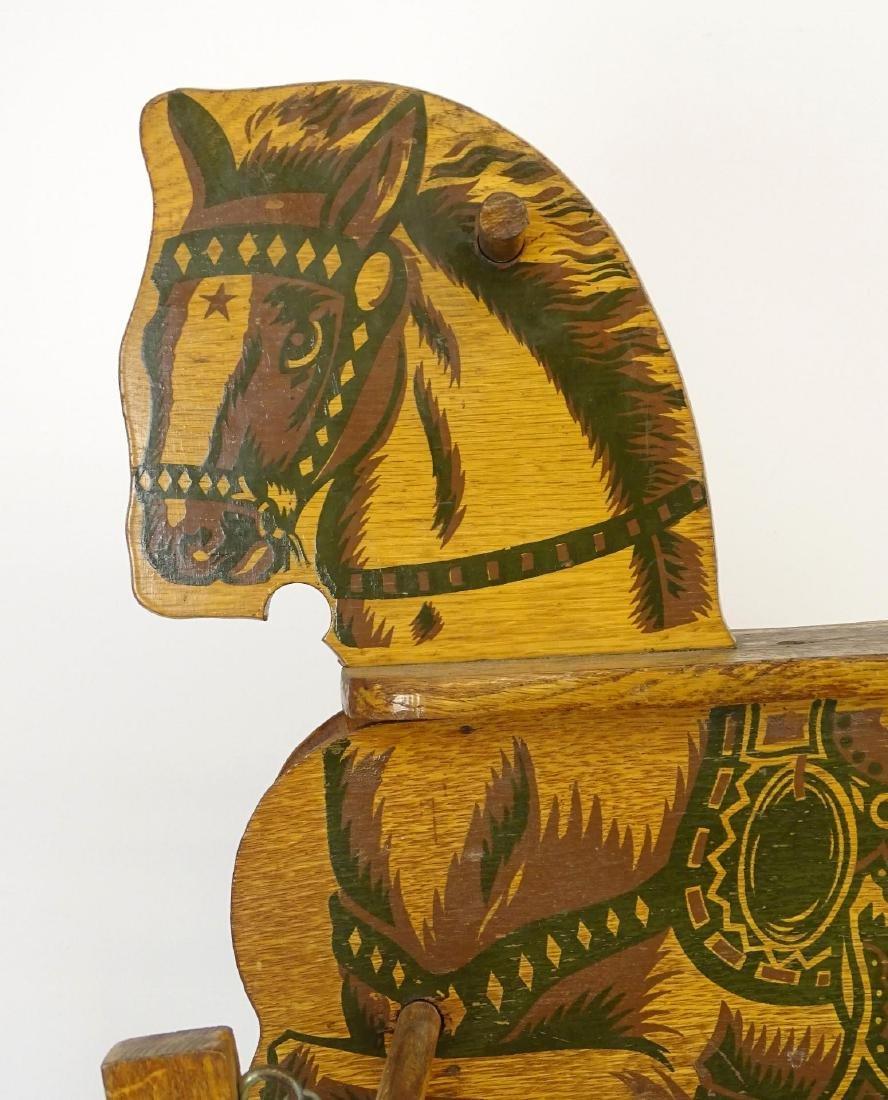 Vintage Child's Riding Horse - 2