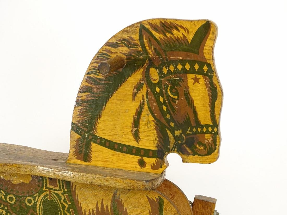 Vintage Child's Riding Horse - 8