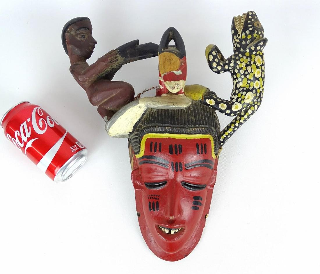Ethnic Carved Mask