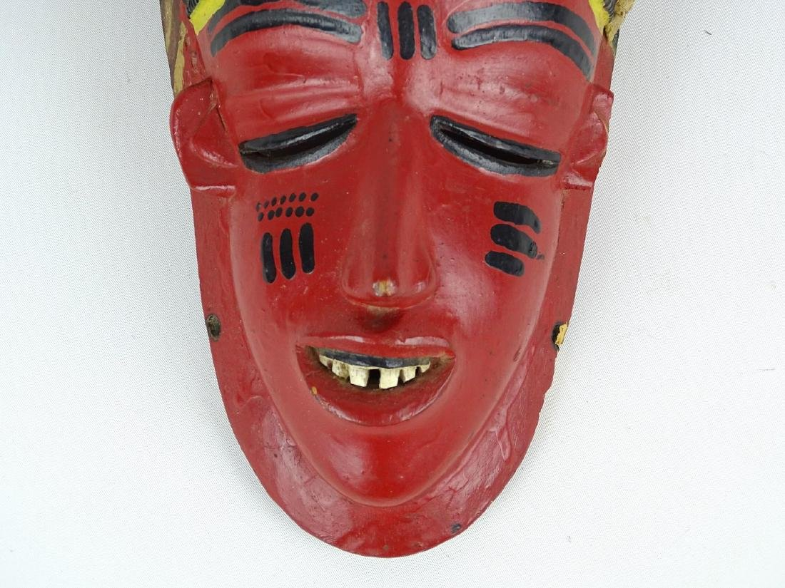 Ethnic Carved Mask - 4