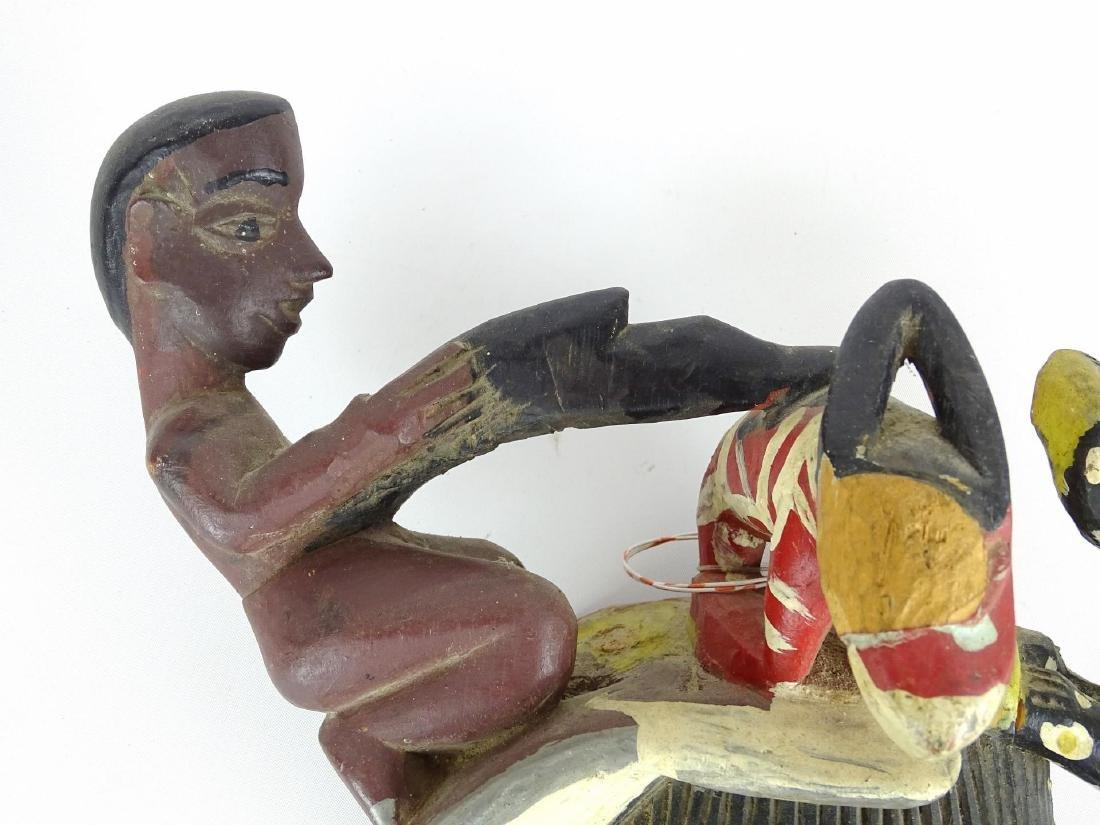 Ethnic Carved Mask - 5