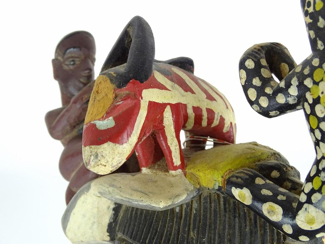 Ethnic Carved Mask - 7