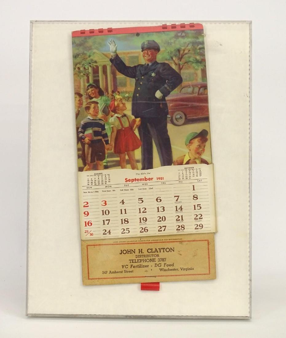 1951 Calendar