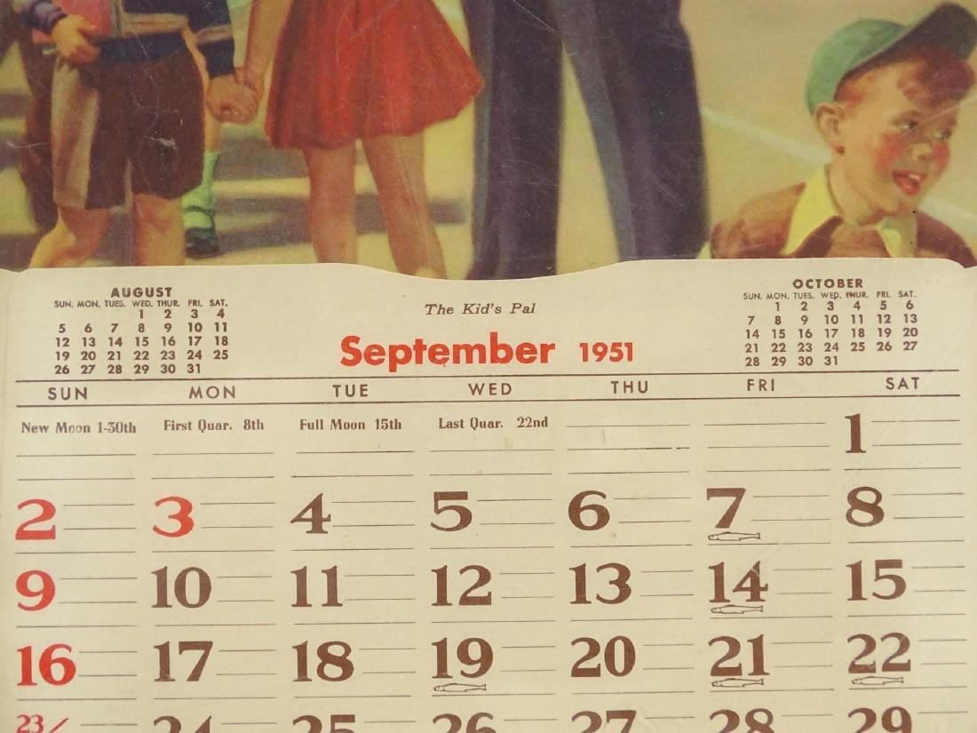 1951 Calendar - 3