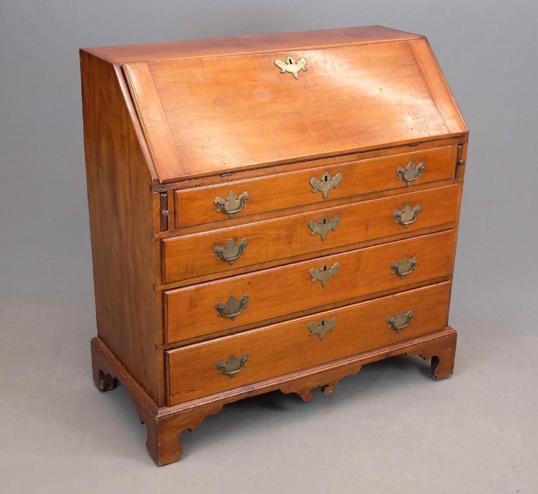 C. 1800 Chippendale Slant Lid Desk