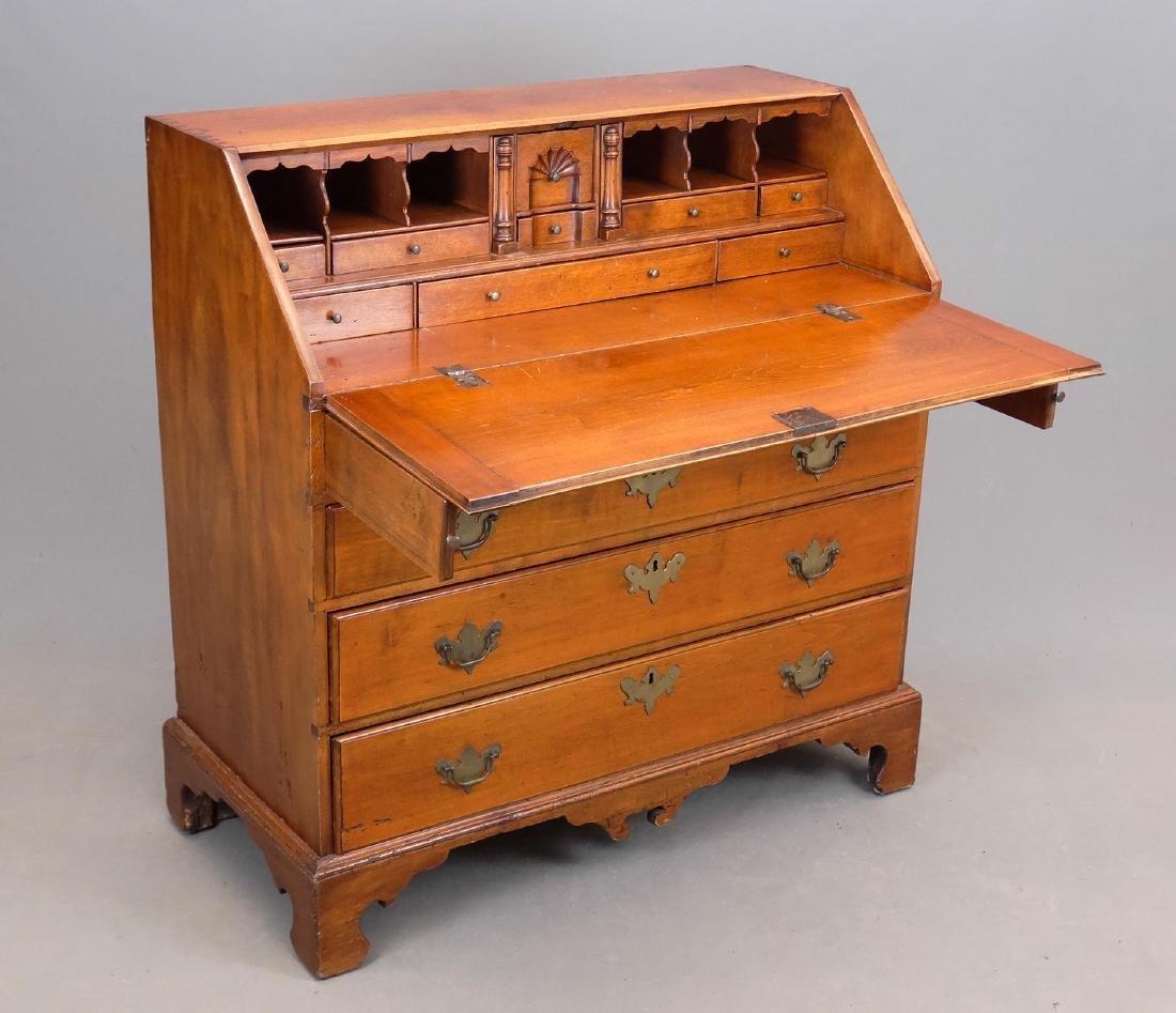 C. 1800 Chippendale Slant Lid Desk - 2