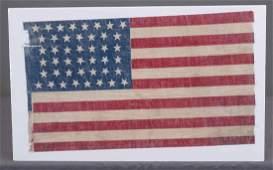 C. 1890's 44 Star American Flag