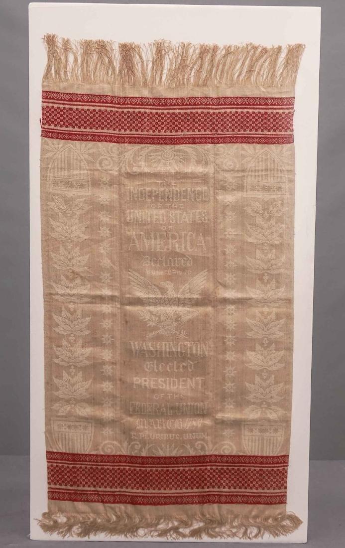 George Washington Centennial Cloth