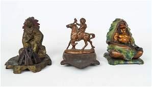 Figural Ashtray & Incense Burners