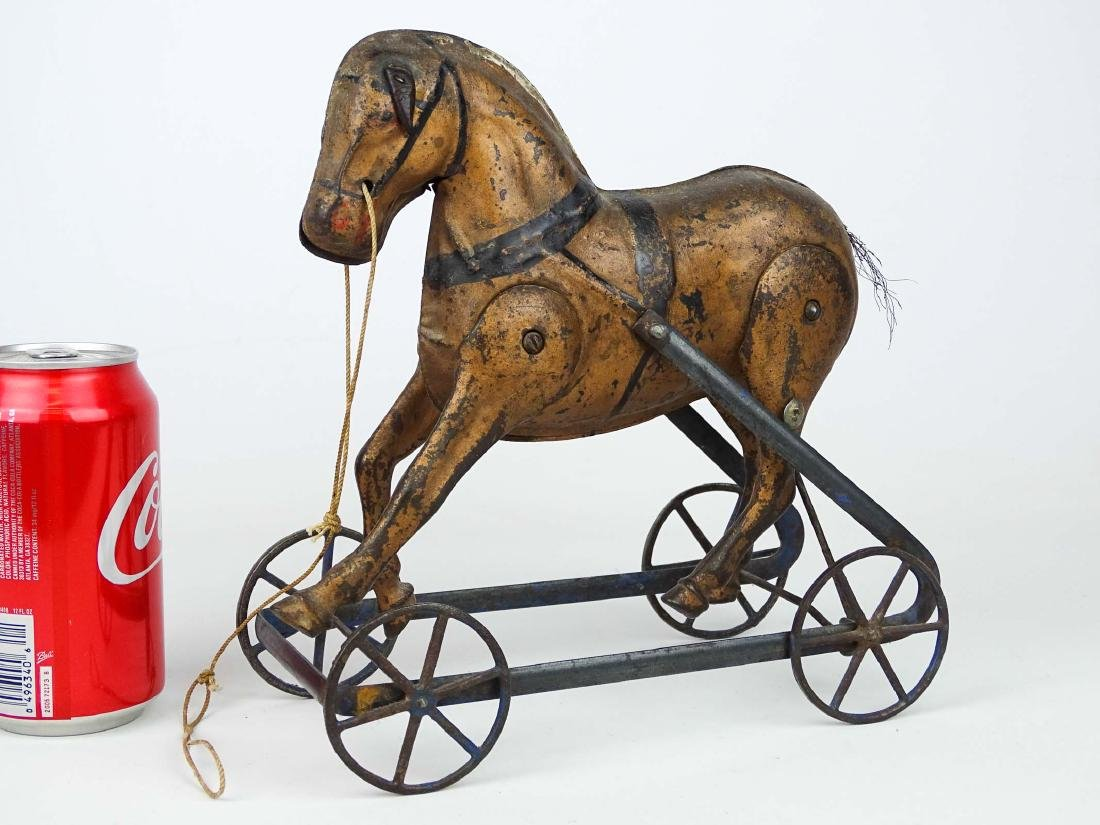 C. 1890's Horse Pull Toy