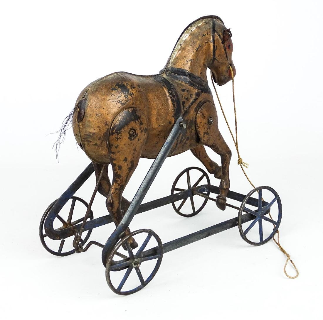 C. 1890's Horse Pull Toy - 3