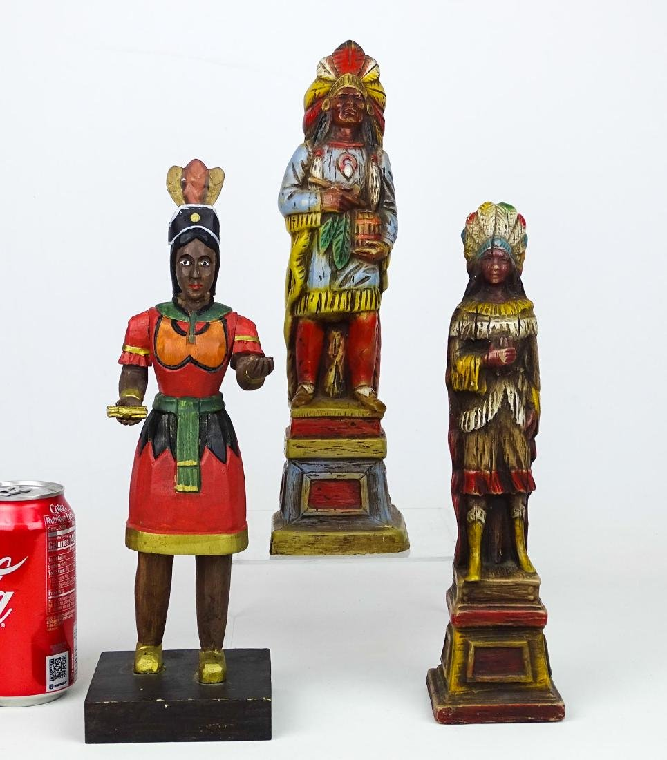 Miniature American Indian Cigar Figures