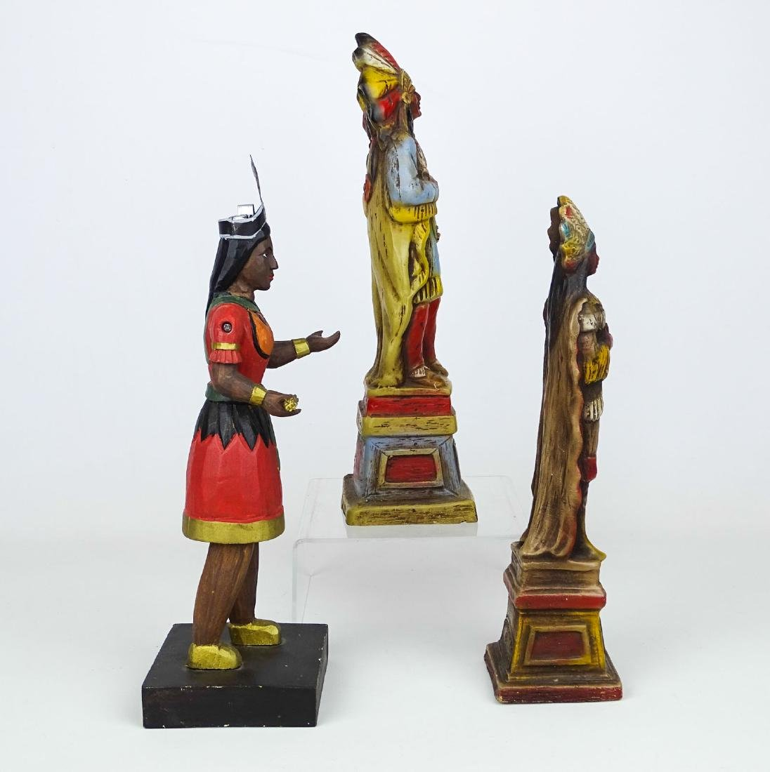 Miniature American Indian Cigar Figures - 2