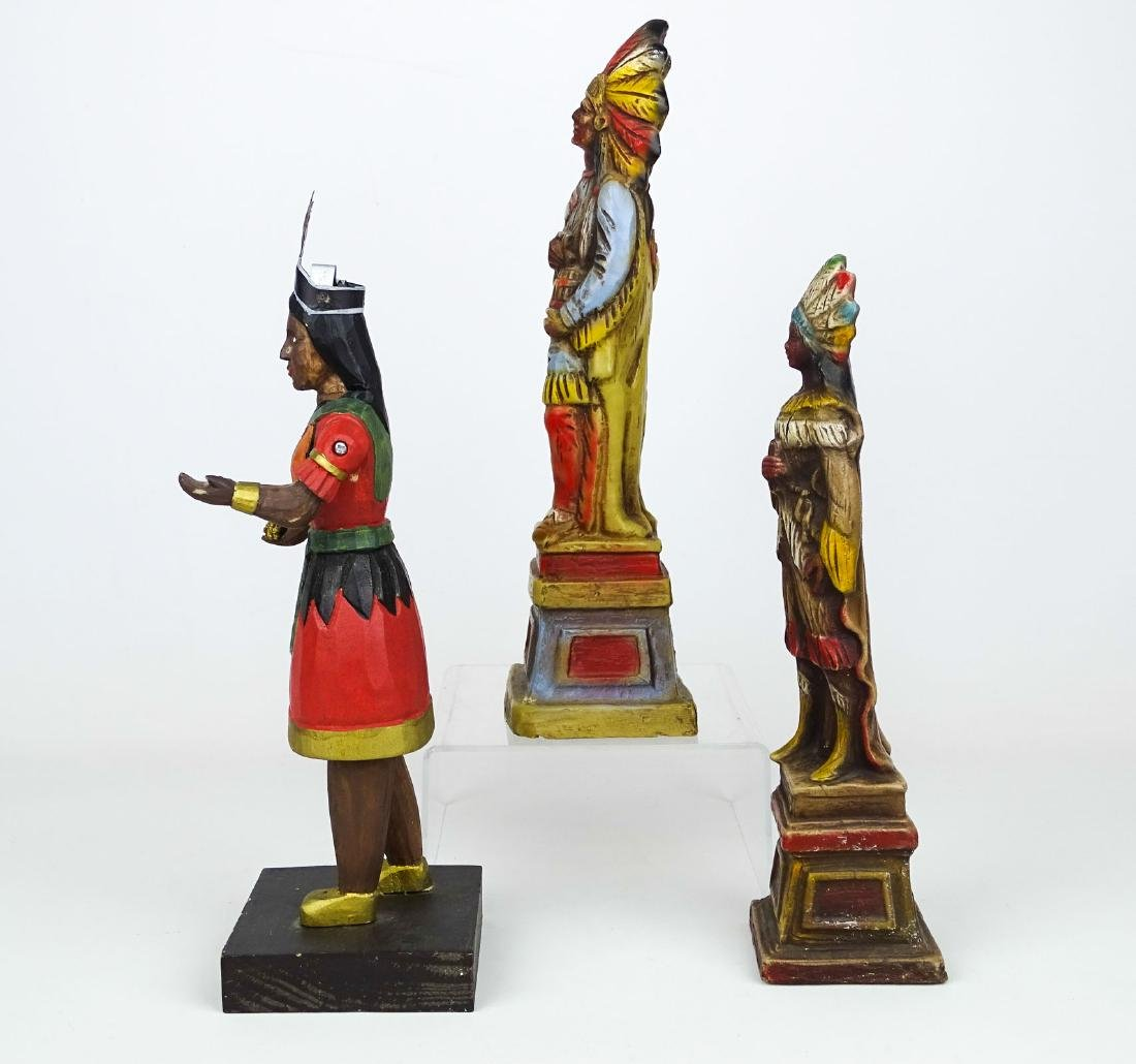 Miniature American Indian Cigar Figures - 6
