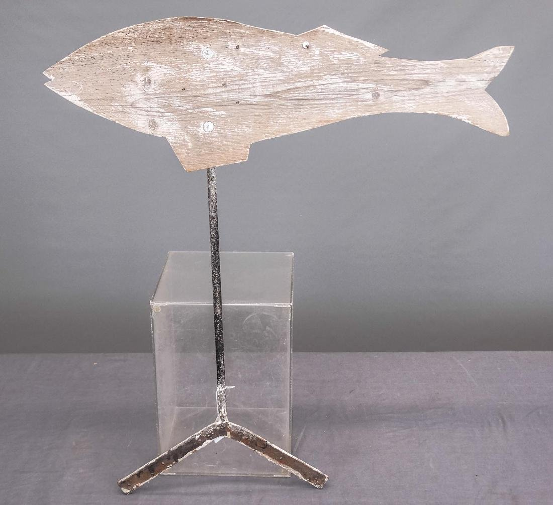Wooden Fish Weathervane