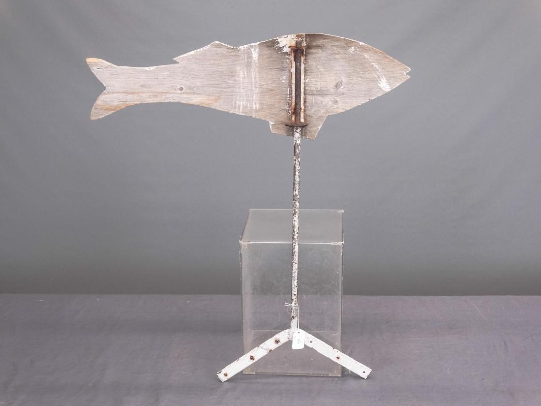 Wooden Fish Weathervane - 2