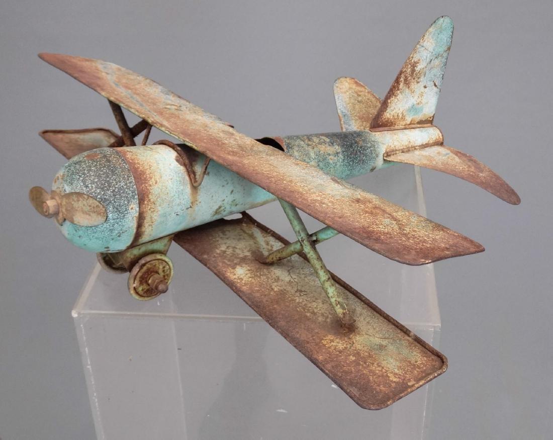 Biplane Weathervane - 2