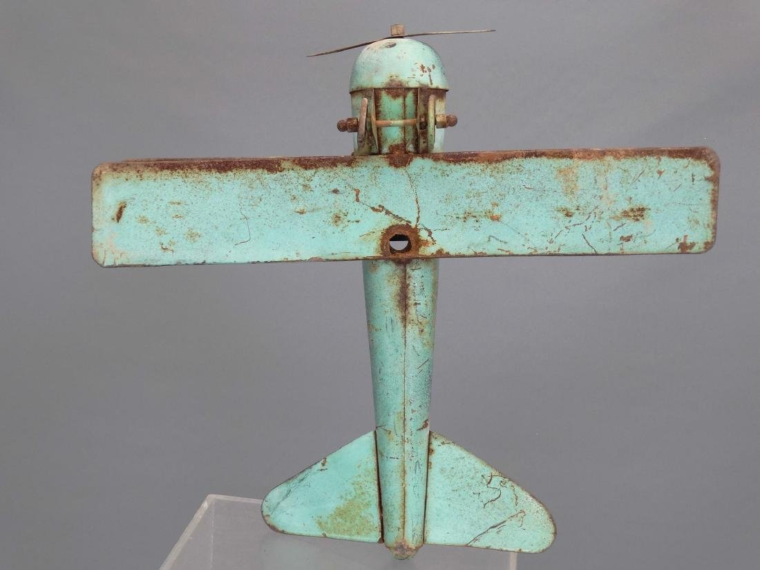 Biplane Weathervane - 5