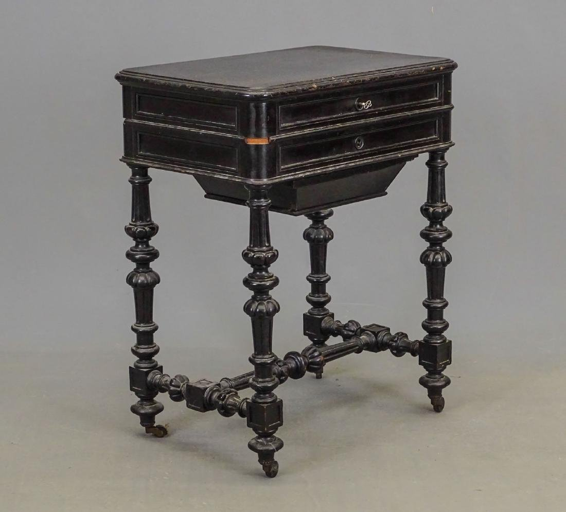 19th c. Victorian Sewing Table