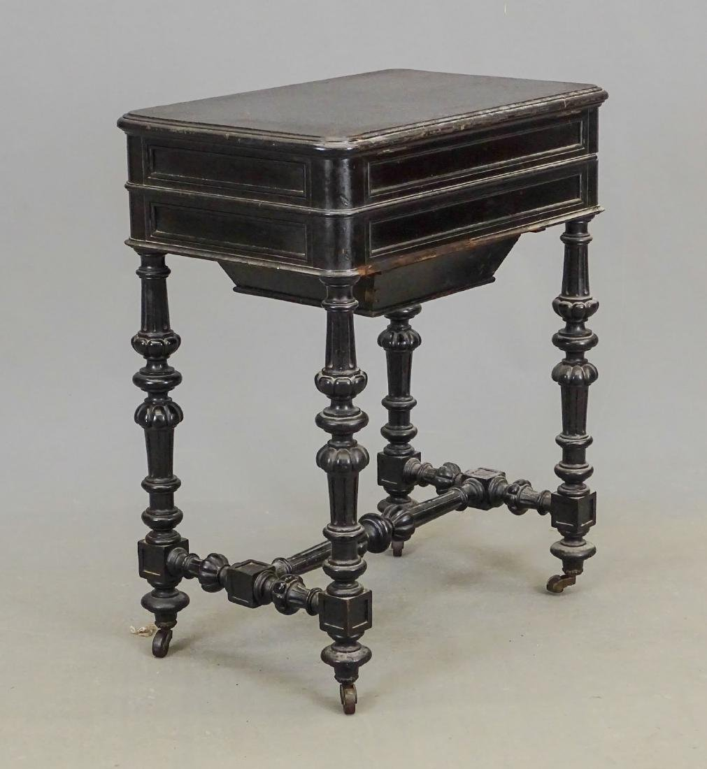 19th c. Victorian Sewing Table - 5