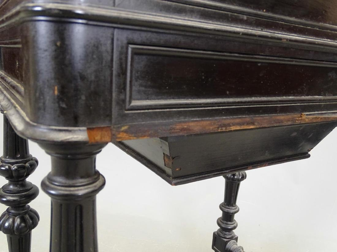19th c. Victorian Sewing Table - 6
