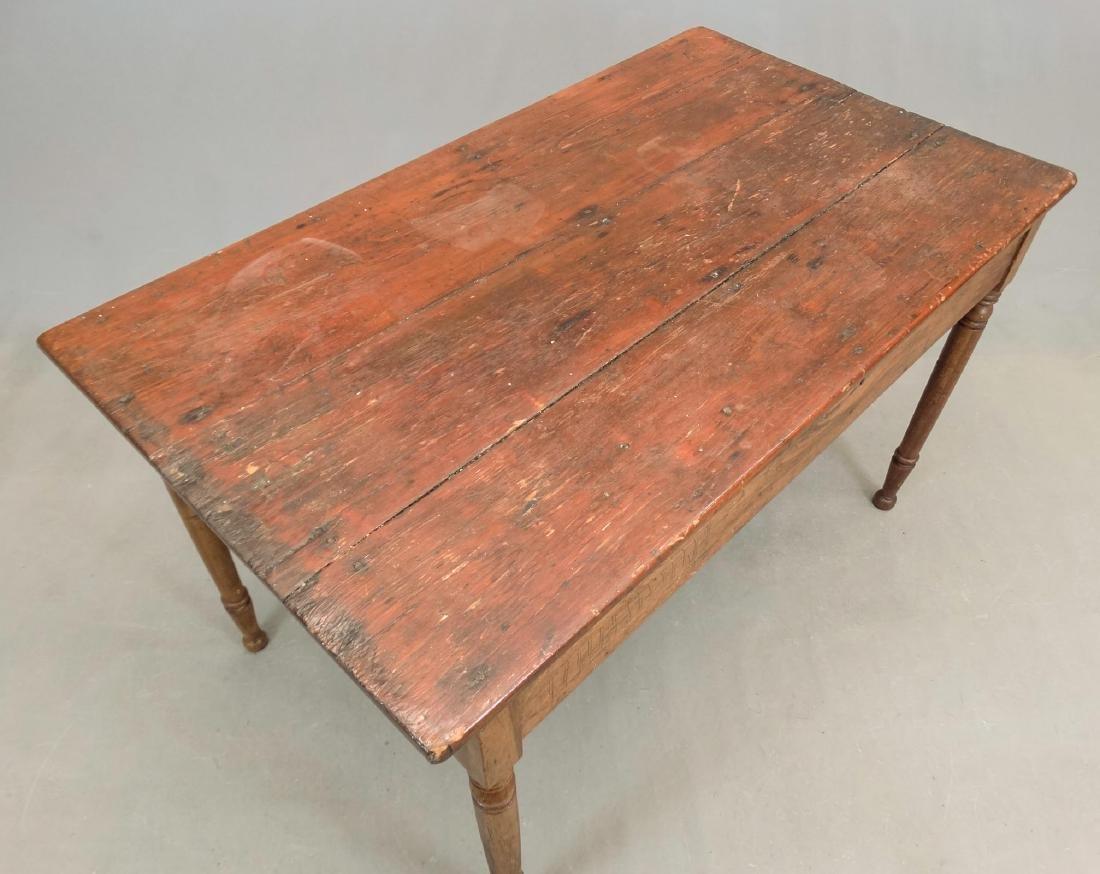 19th c. Primitive Table - 2