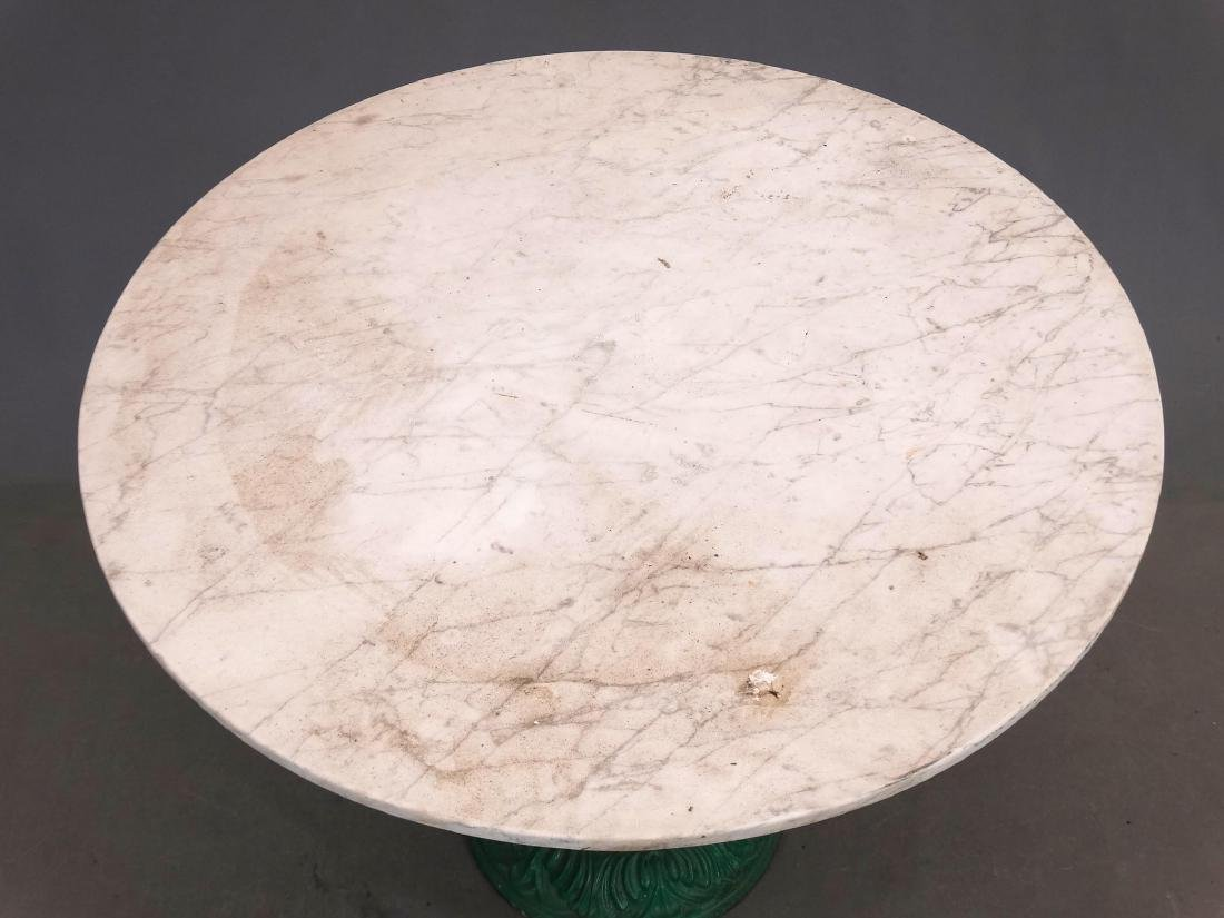 Marble Top Table - 2