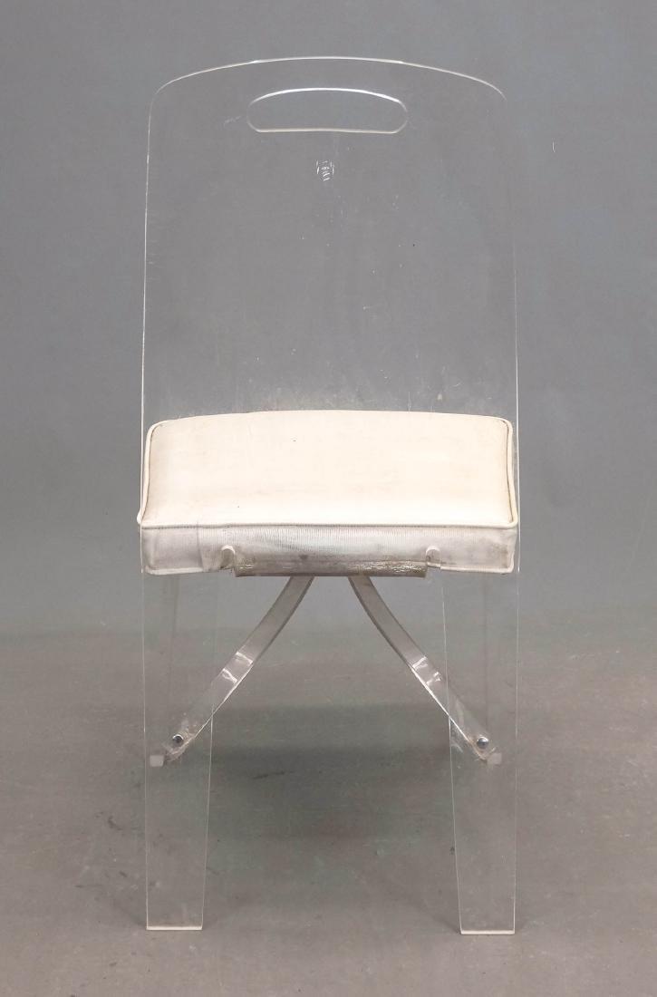 Lucite Chair - 4