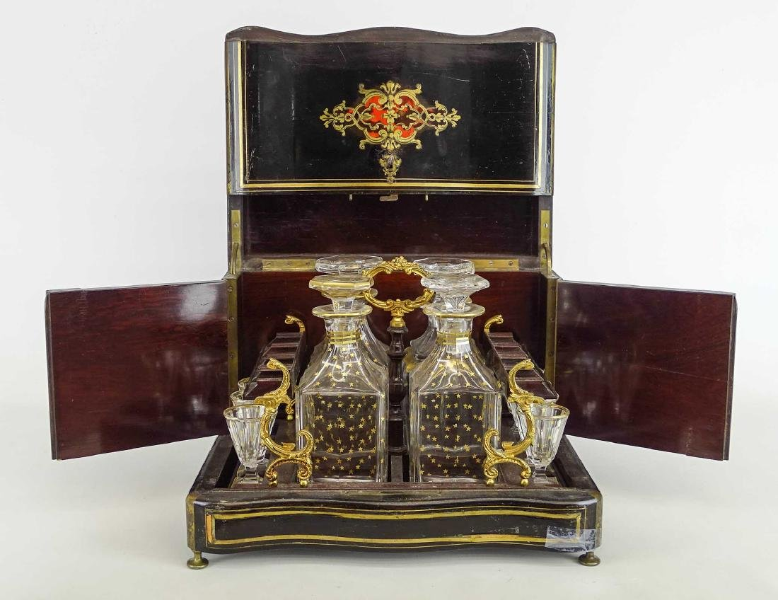 19th c. French Liquor Cabinet