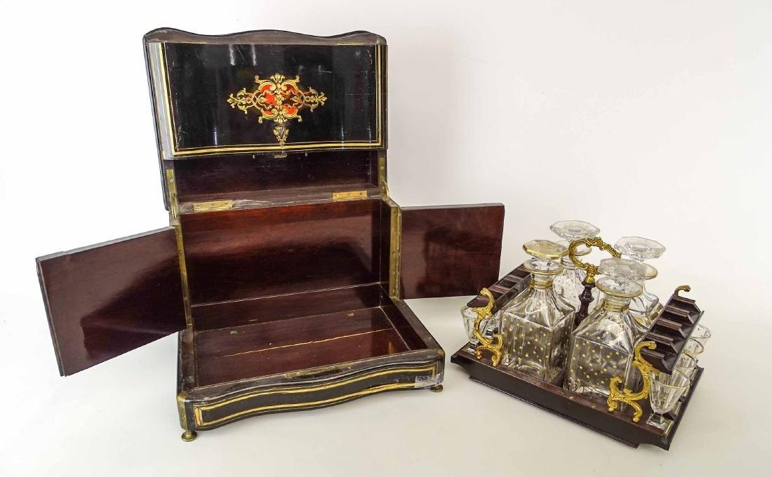 19th c. French Liquor Cabinet - 9