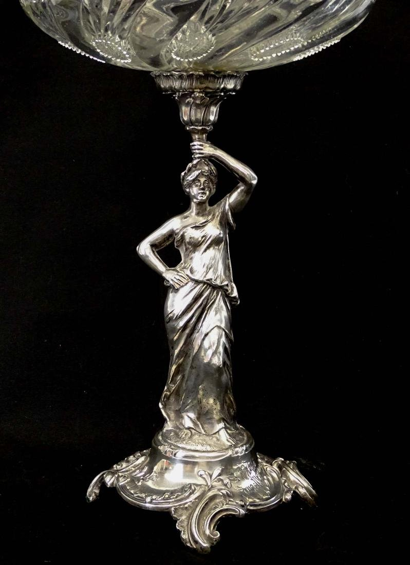 Silverplate Epergne - 3