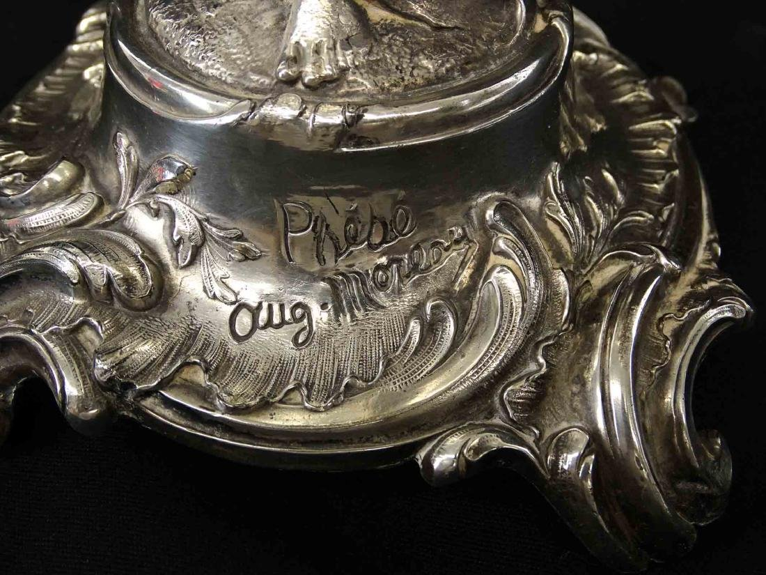Silverplate Epergne - 4