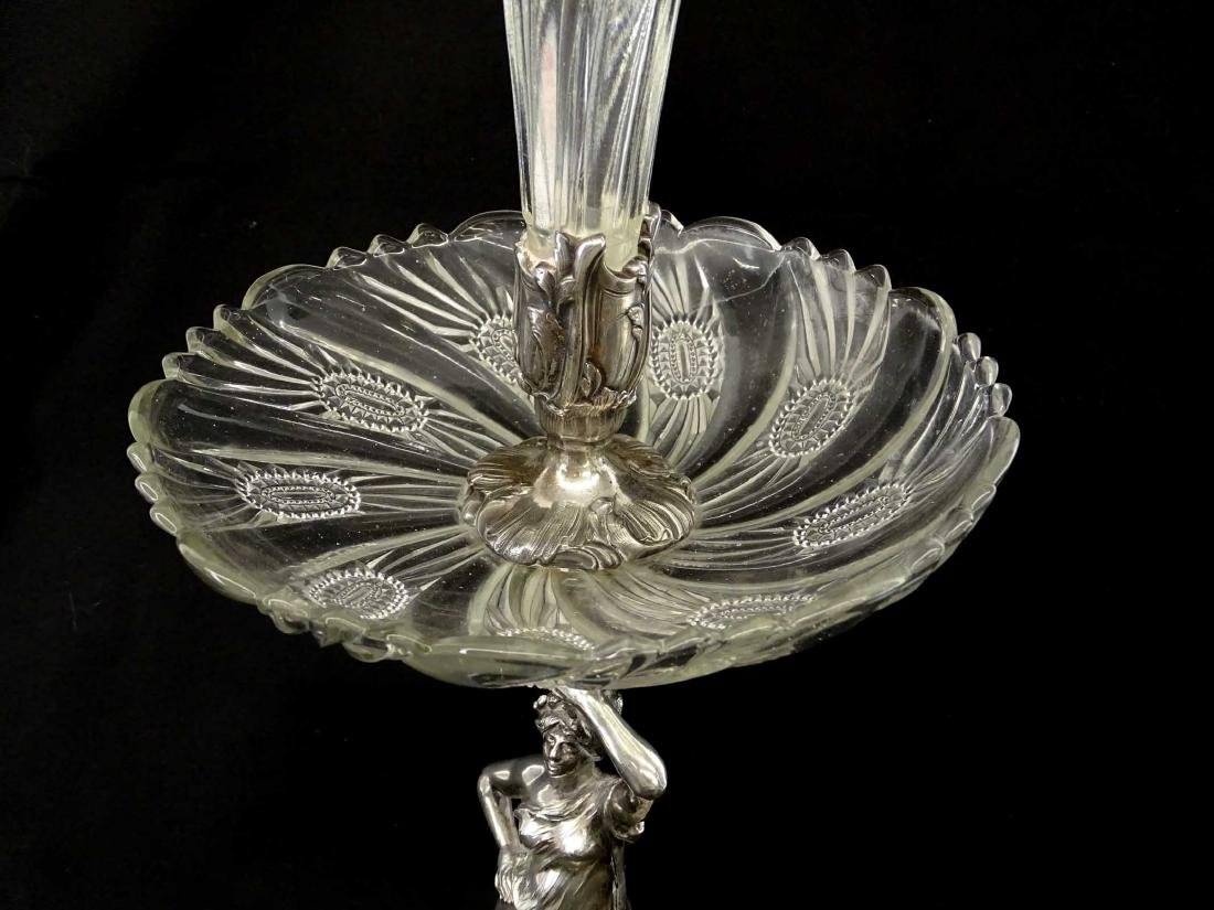 Silverplate Epergne - 5