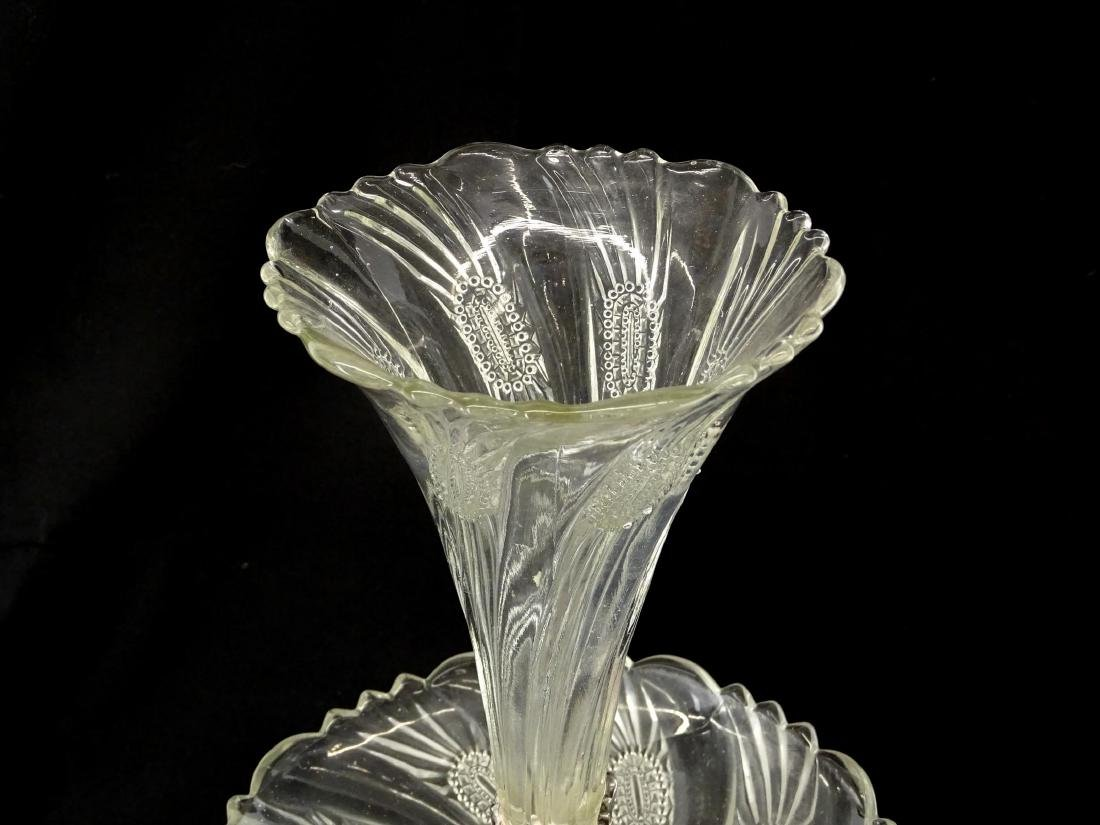 Silverplate Epergne - 6
