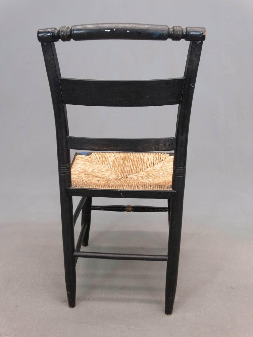 Set Of (4) 19th c. Hitchcock Style Chairs - 5