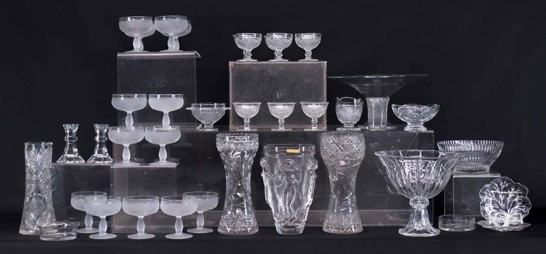 Clear glass Lot