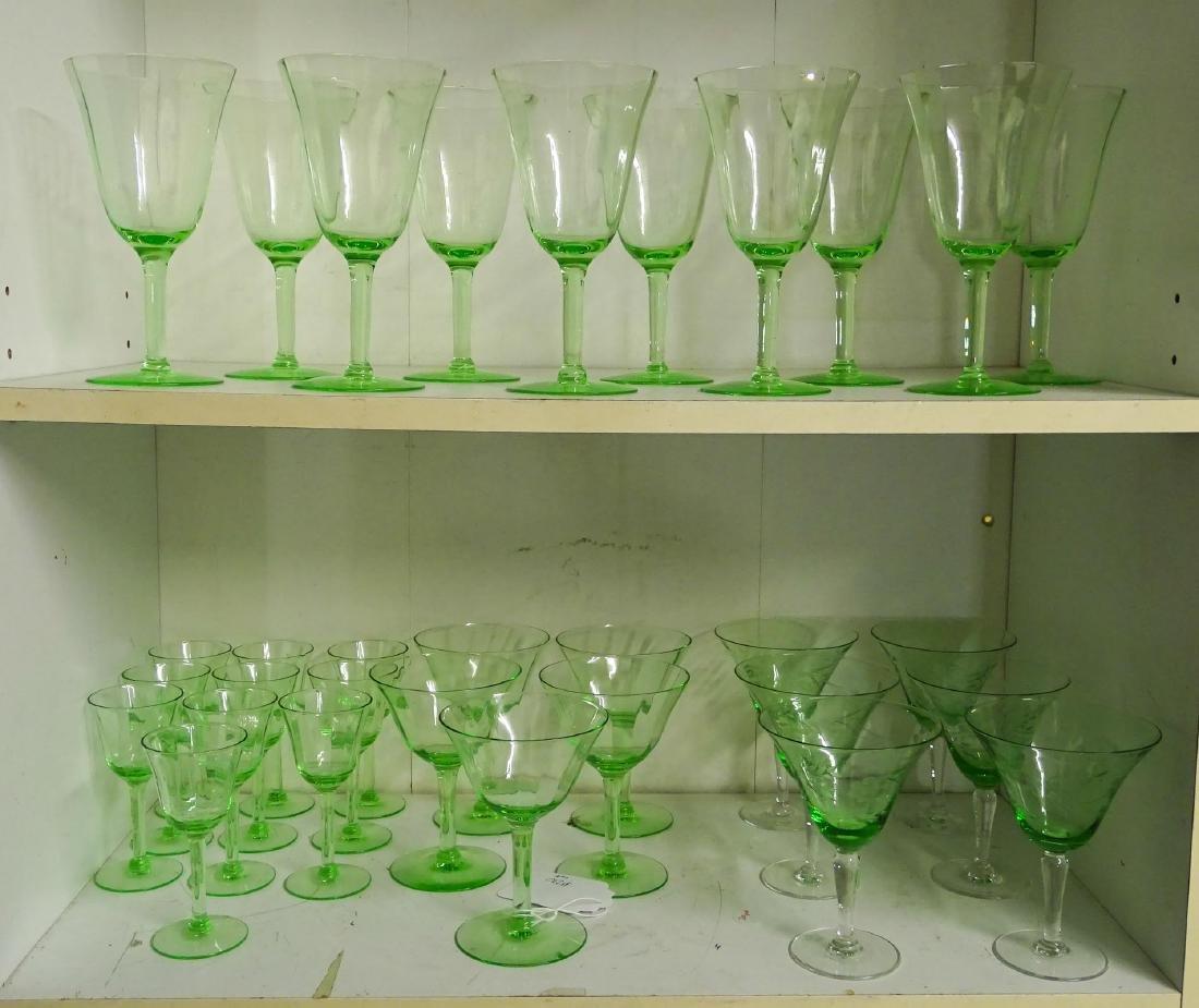 Depression Glass & Misc. Lot