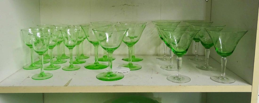 Depression Glass & Misc. Lot - 3