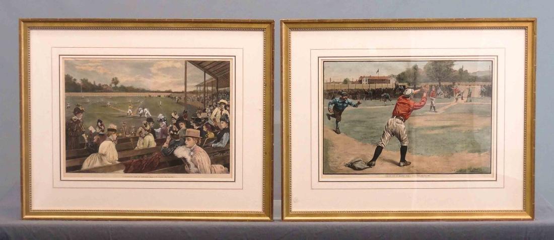 Harpers Weekly Baseball Prints
