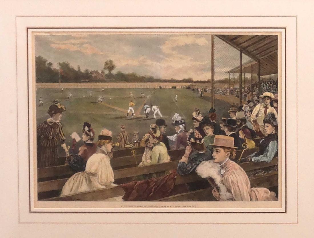 Harpers Weekly Baseball Prints - 2