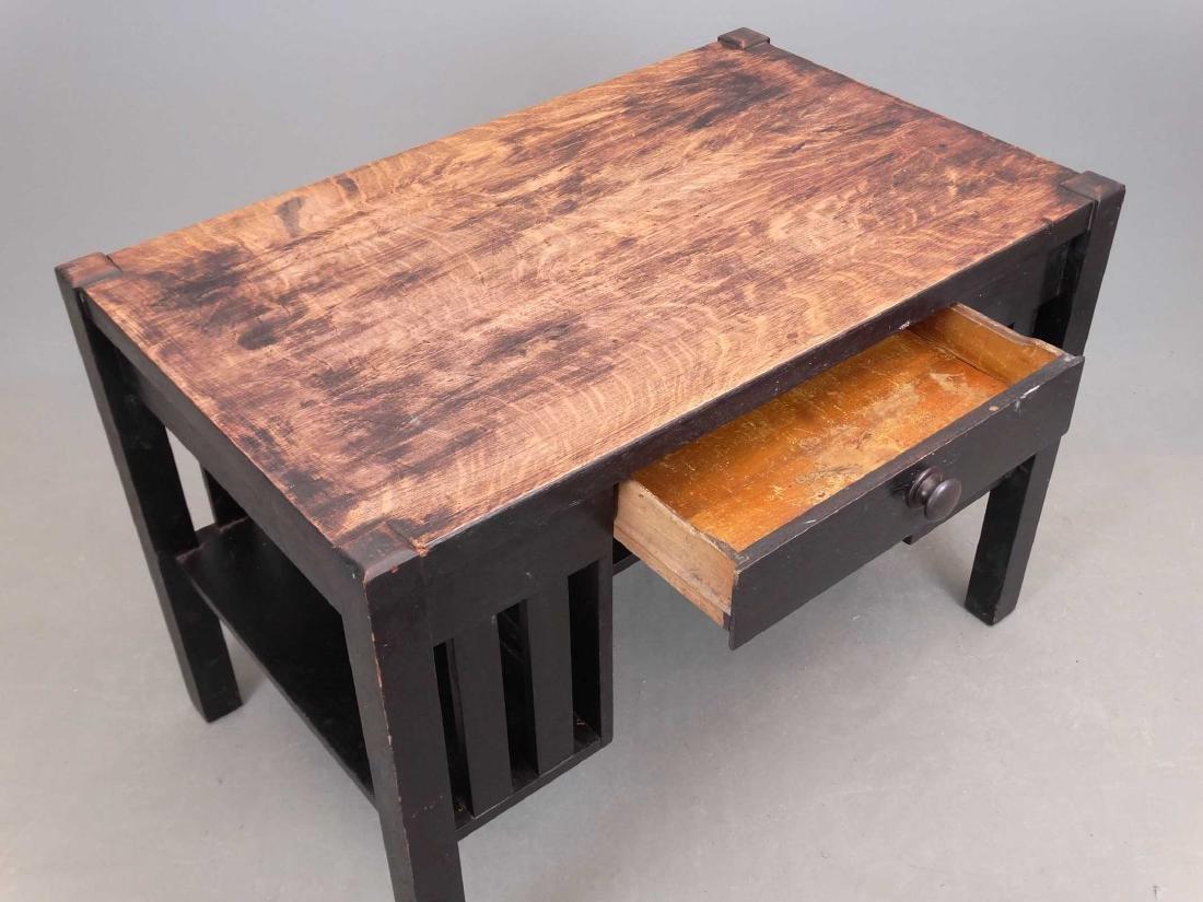 Mission Oak Desk - 3