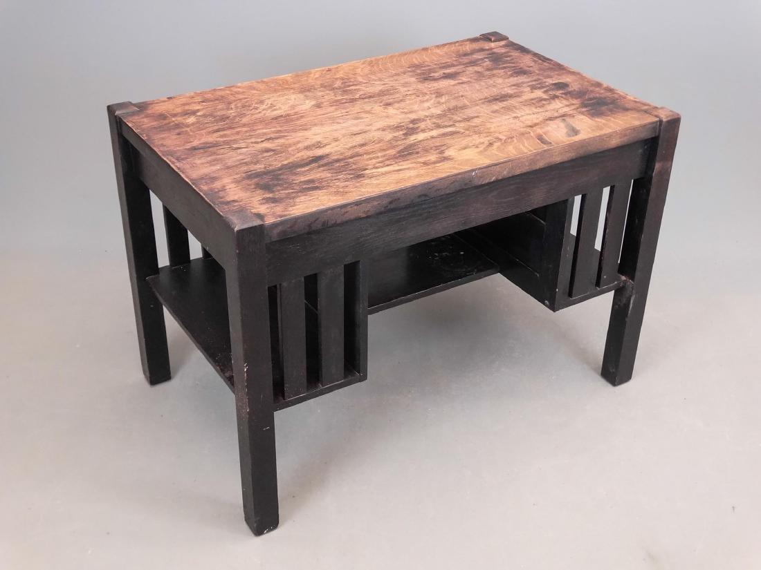 Mission Oak Desk - 4