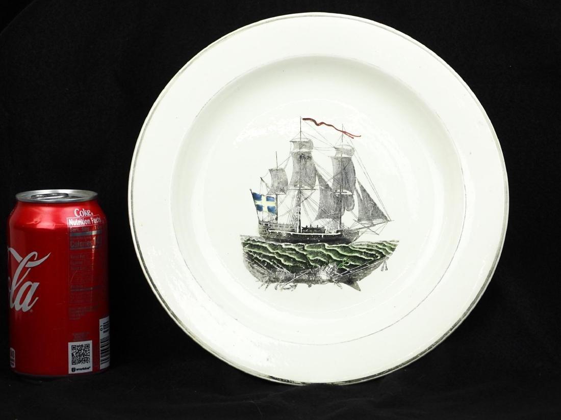 Early Cream Ware Plate
