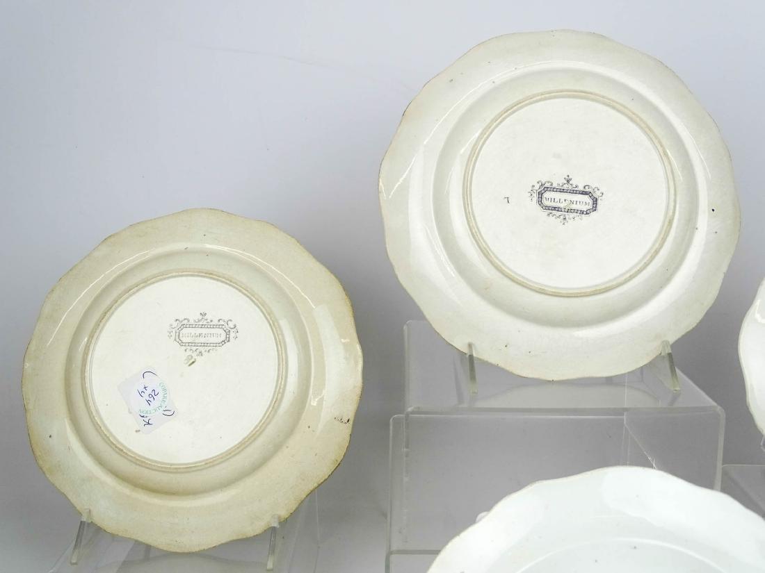 19th c. Staffordshire Plates - 3