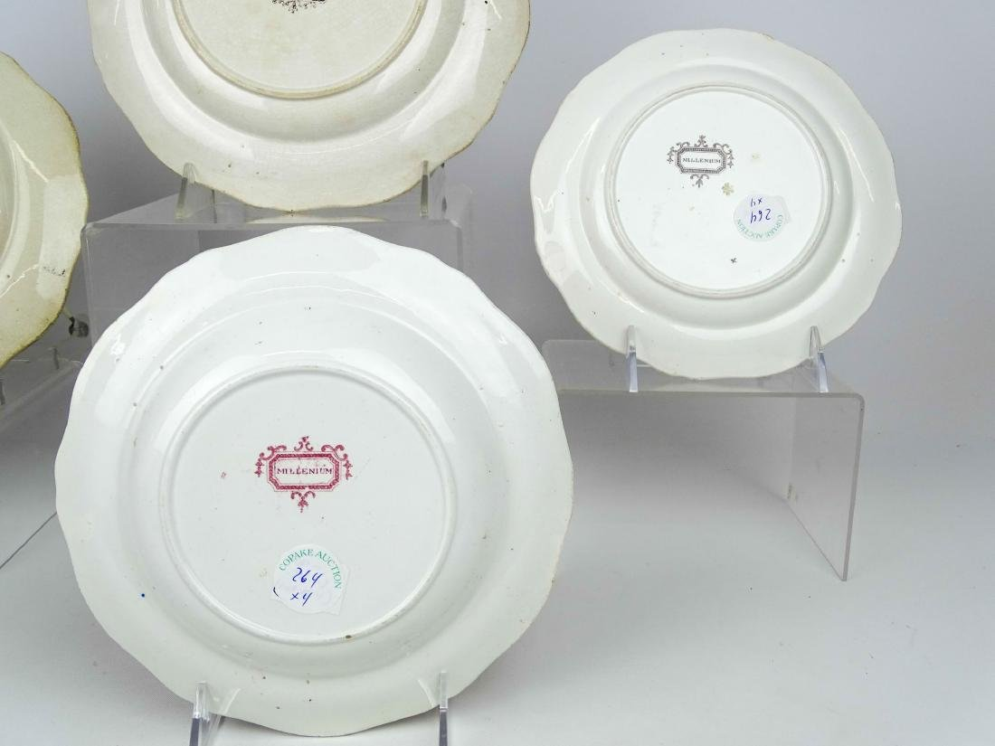 19th c. Staffordshire Plates - 4