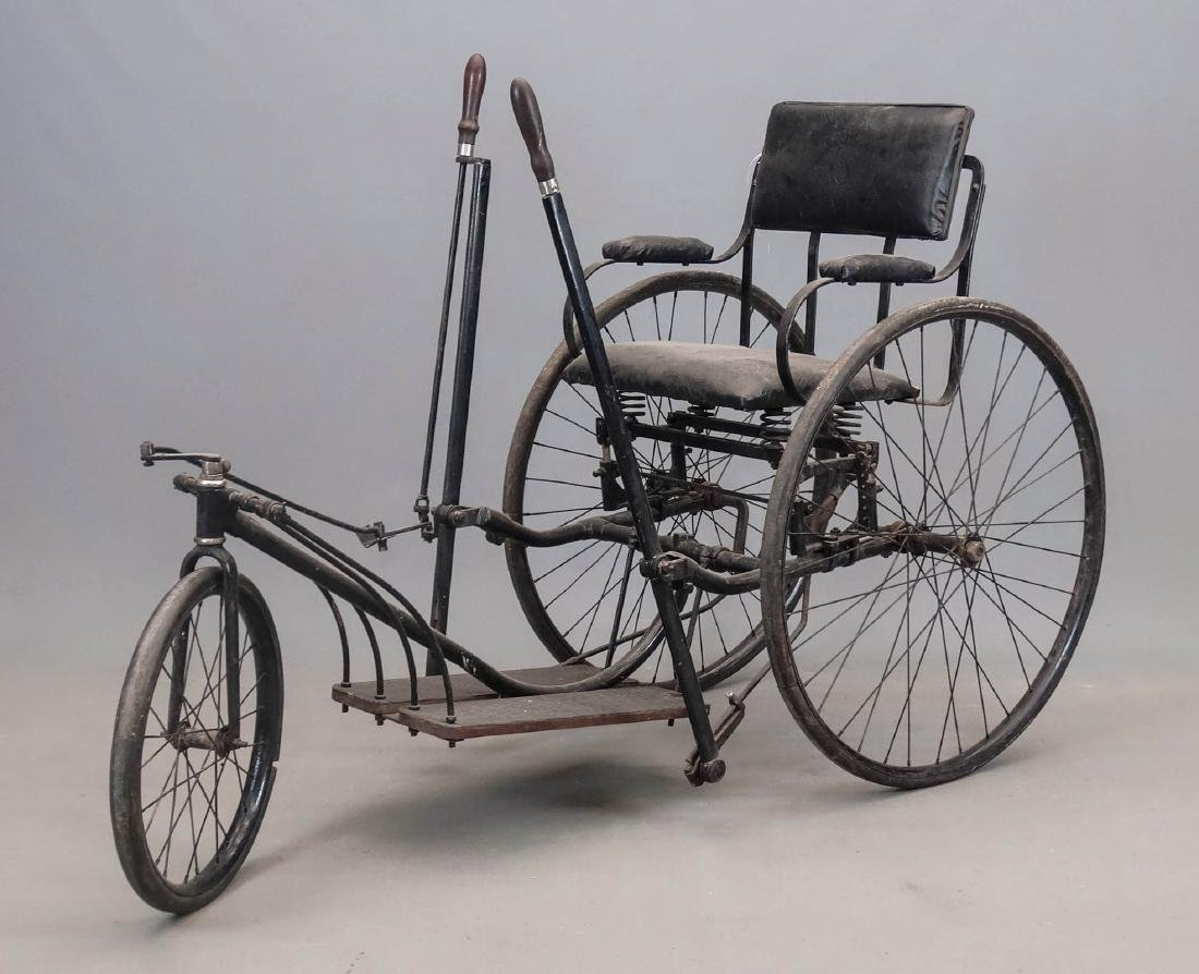 C. 1890's Invalid Tricycle
