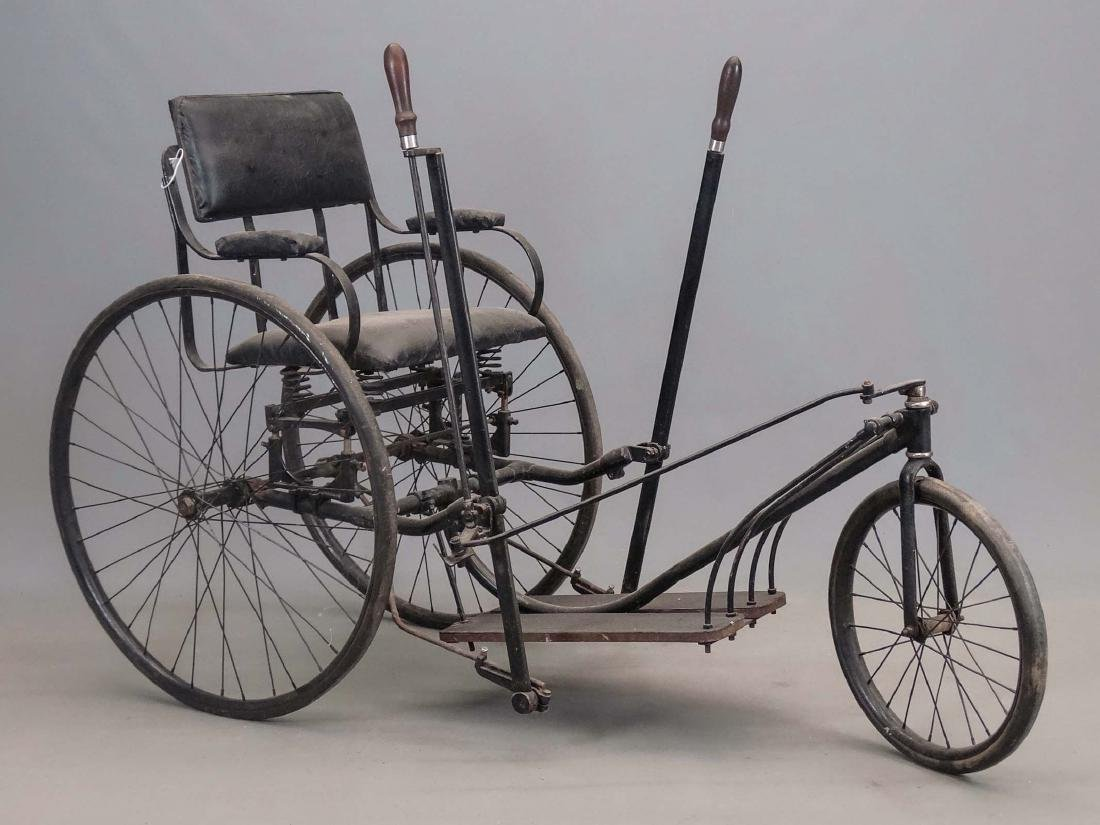 C. 1890's Invalid Tricycle - 2
