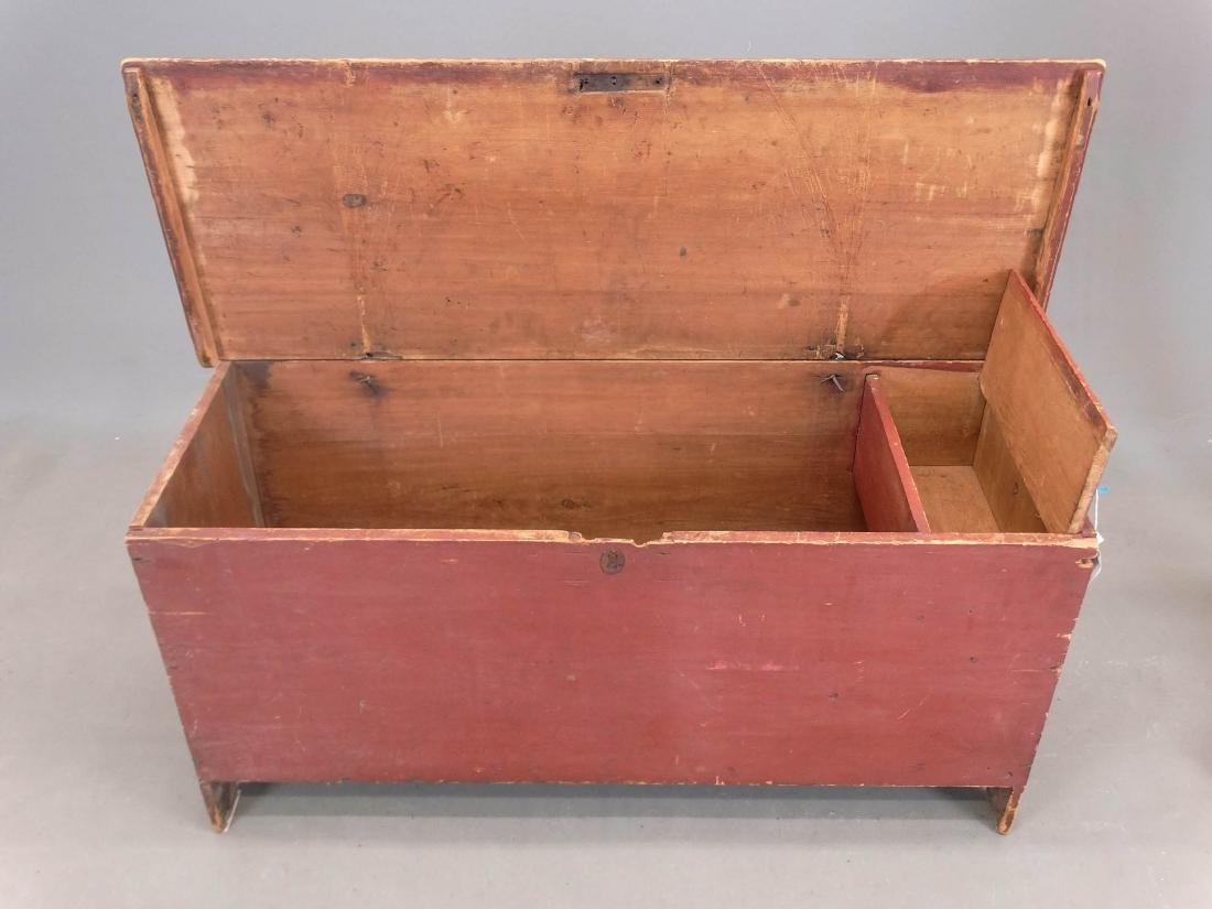 19th c. Blanket Box - 5