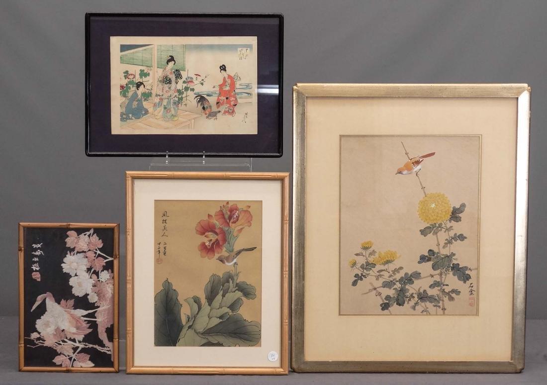 Asian Framed Lot