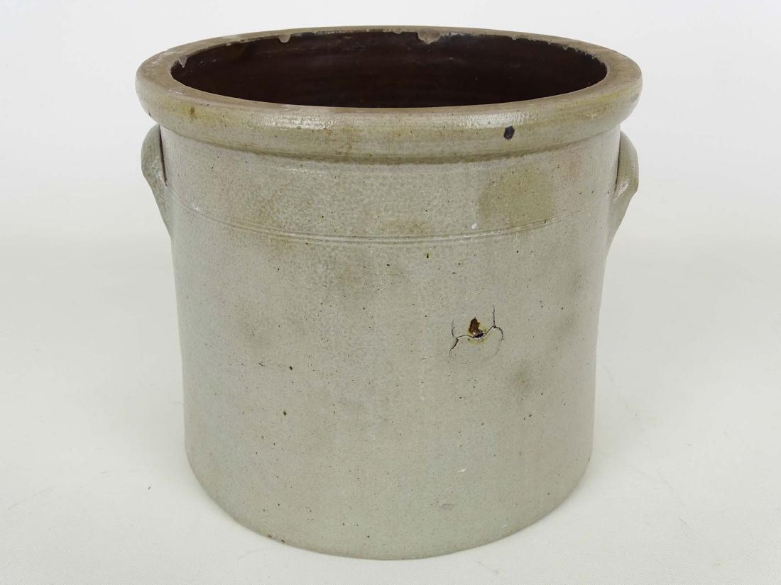 19th c. Stoneware Crock - 2